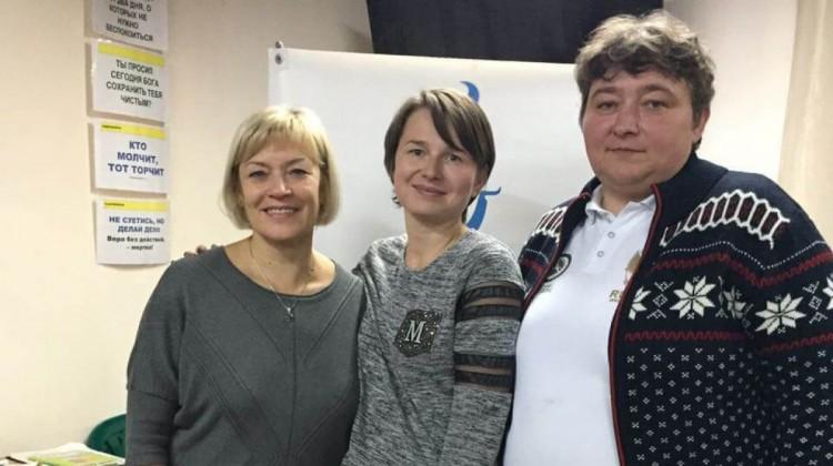 Луиза Носкова и Ольга Мельник в гостях РЦ Поколение