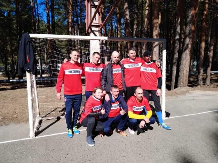 Футбольная команда РЦ Поколение 1